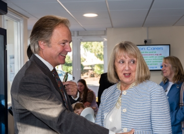 Our MP Hugo Swire talks to the Hub CEO